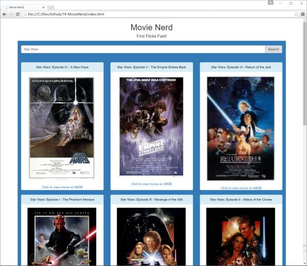 Movie Nerd Screenshot